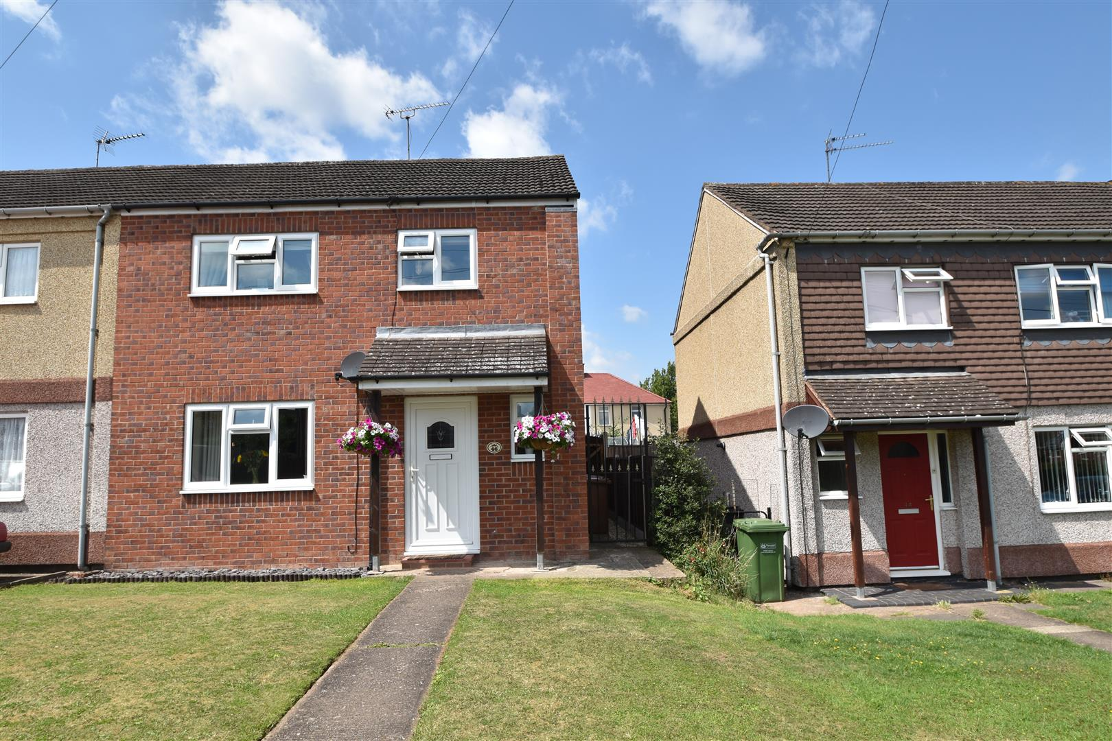 3 Bedrooms End Of Terrace House for sale in Rydal Close, Worcester
